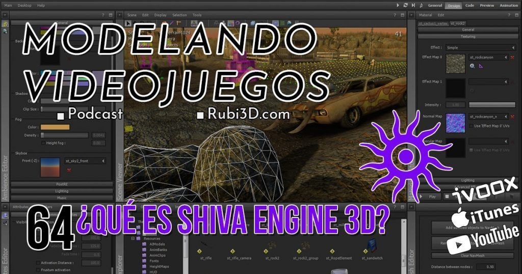 que es shiva engine 3d