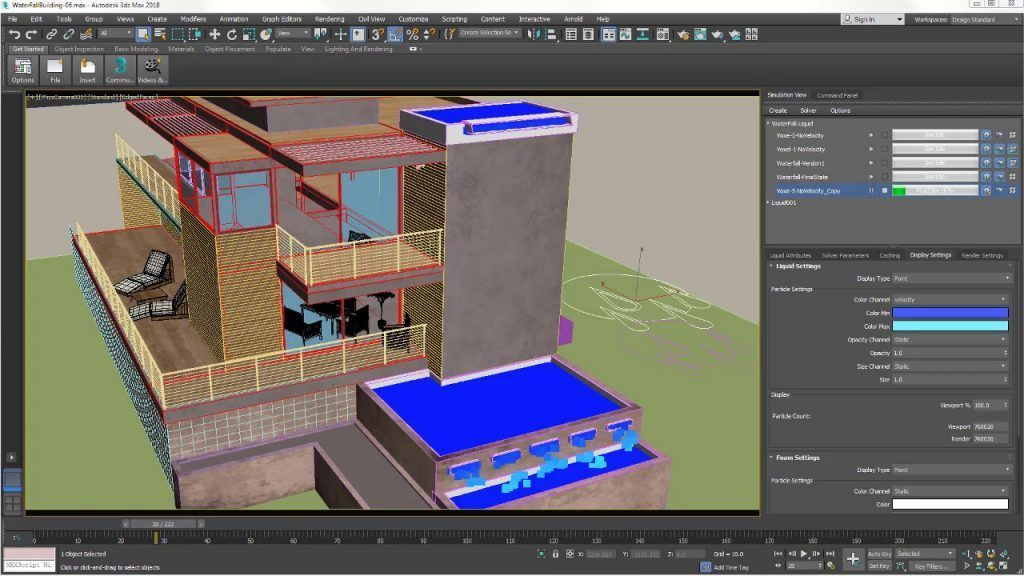 fluidos 3ds max